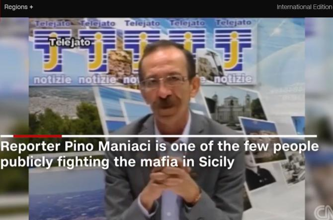 Il surreale servizio della Cnn su Pino Maniaci