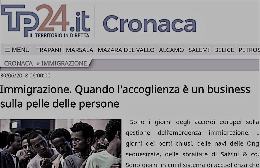 """Recuperiamo il senso della parola """"accoglienza"""", difendendo la legalità, denunciando chi specula sui migranti"""